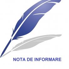 Nota de informare prelungire contract audit financiar